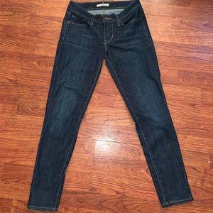 Women's Levi's 711 skinny jeans size 27